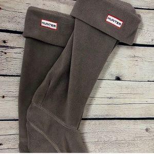 HUNTER brown M\L socks